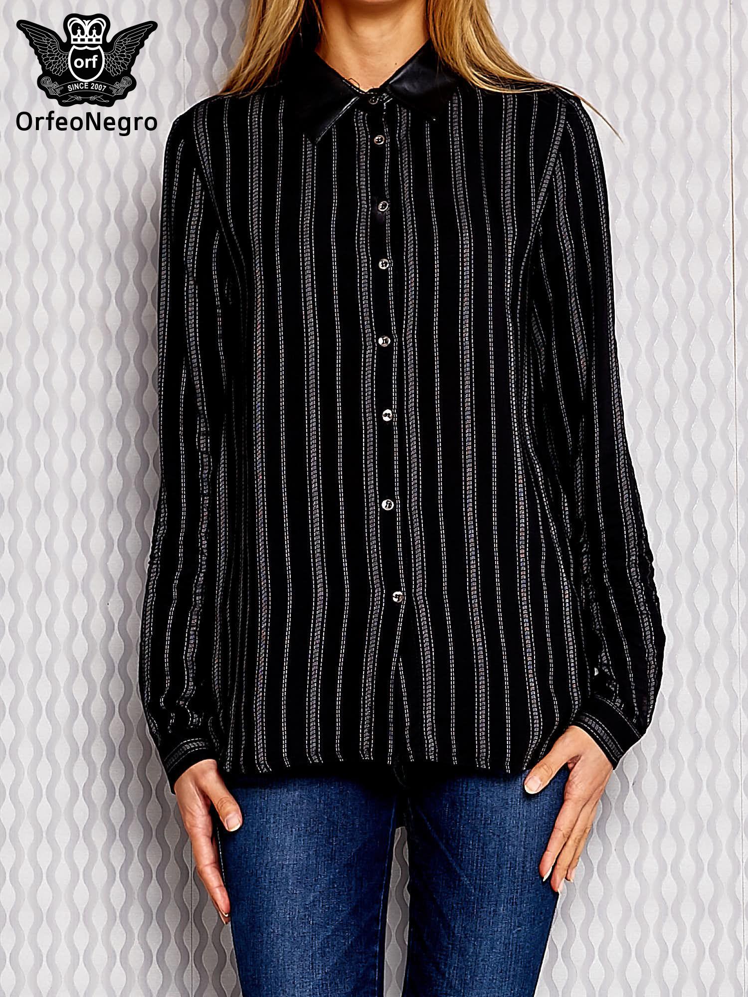 czarne koszule damskie