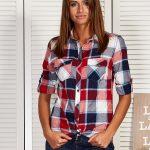 koszule damskie w kratę